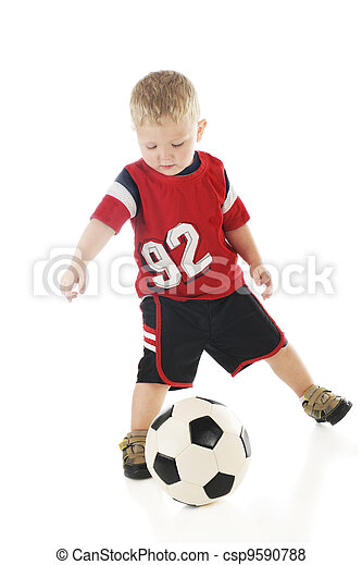 Tiny Athlete - csp9590788