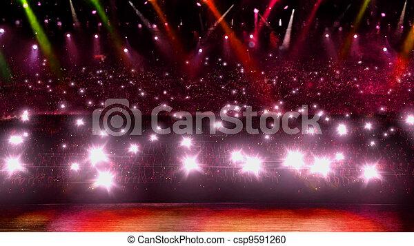 concert red light - csp9591260