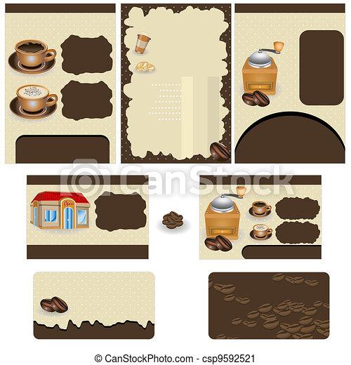 Coffee stationary - csp9592521