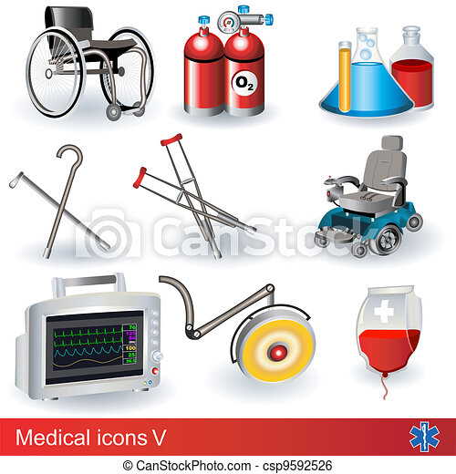 Medical icons 5 - csp9592526