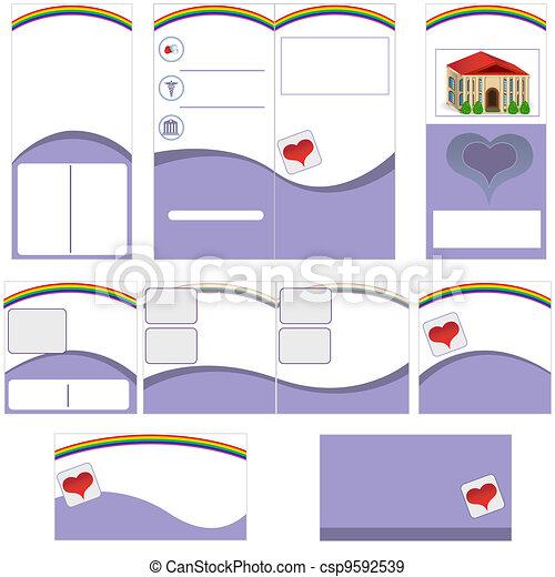 Nursing home stationary - csp9592539
