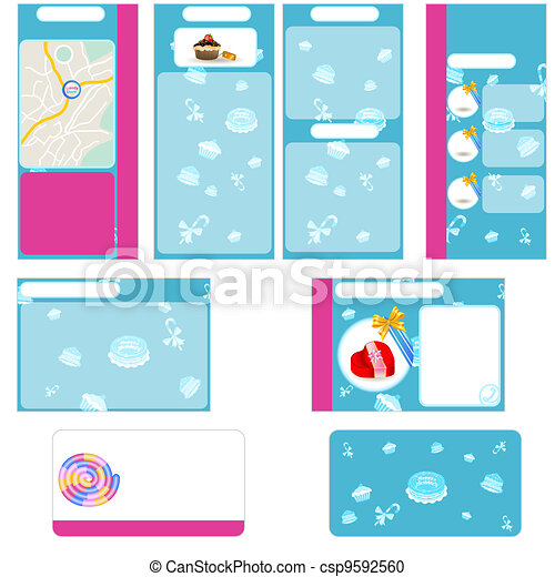 Candy store stationary - csp9592560