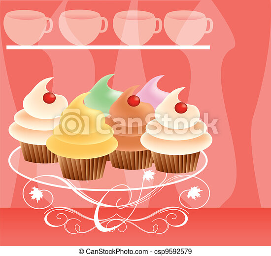 dessert background 12 - csp9592579