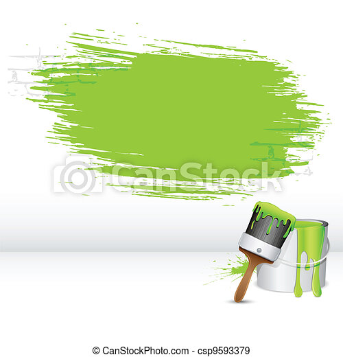 Paint Stroke - csp9593379