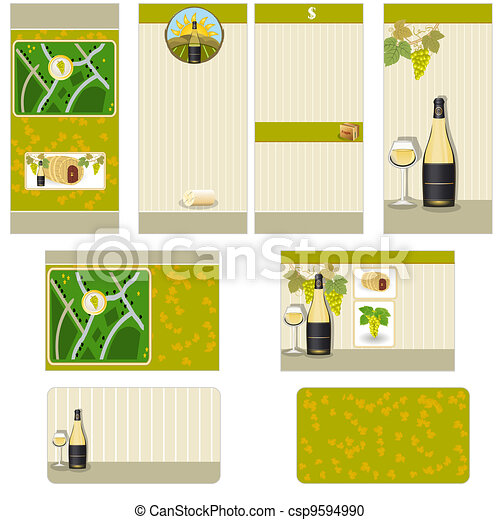 White wine stationary  - csp9594990