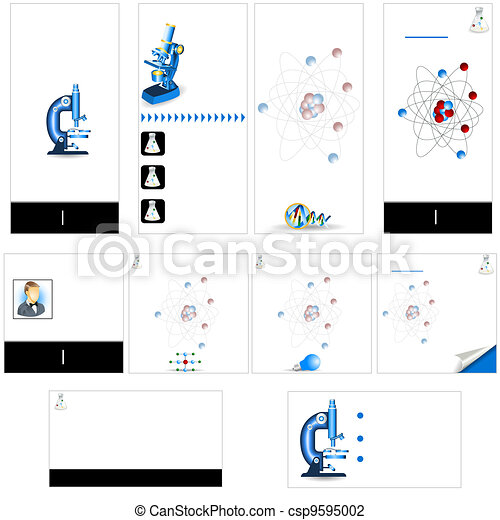 Science stationary template  - csp9595002