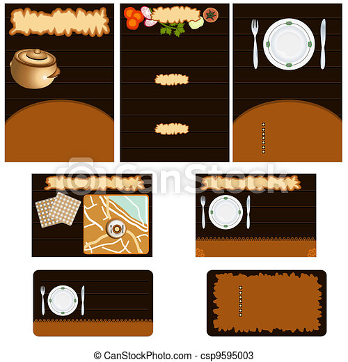 Restaurant stationary - csp9595003