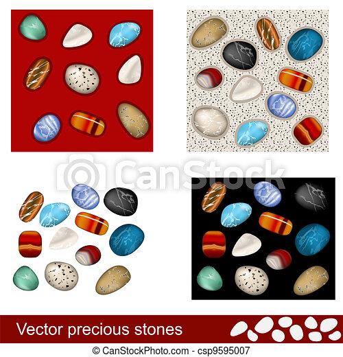 Precious stones - csp9595007