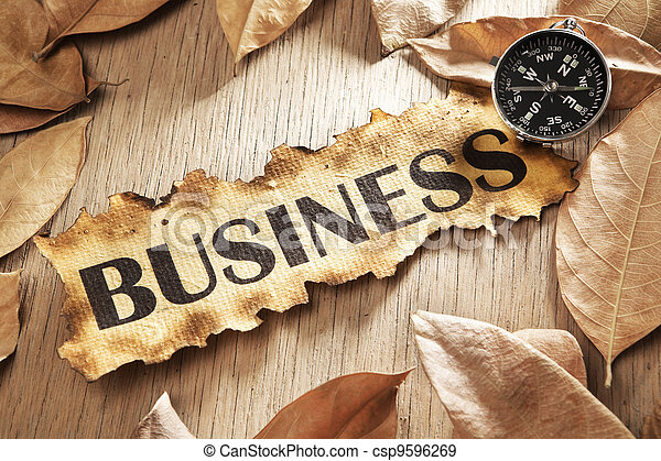 Guidance in business concept - csp9596269