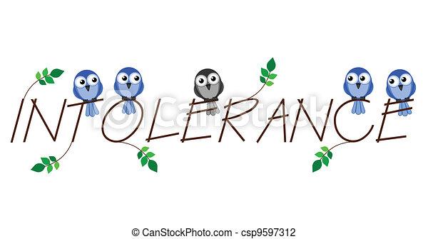 Intolerance  - csp9597312