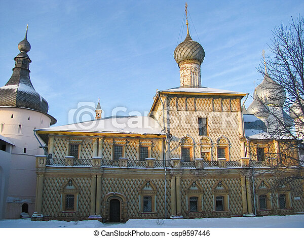 Pilgrimage to the temples Russia - csp9597446