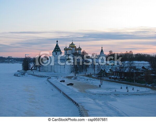 Pilgrimage to the temples Russia - csp9597681