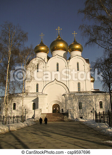 Pilgrimage to the temples Russia - csp9597696