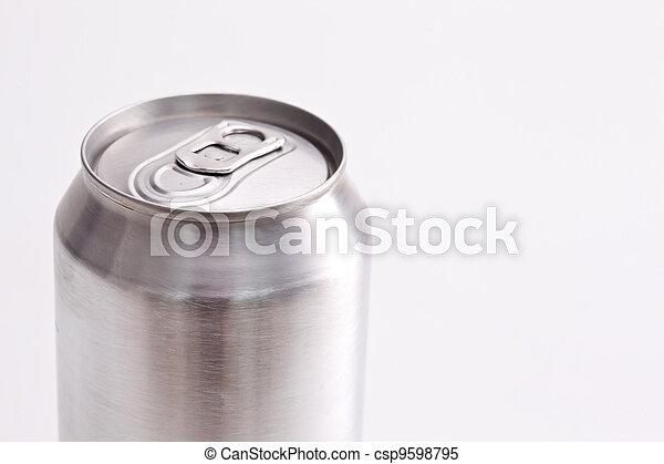Closed aluminium can  - csp9598795