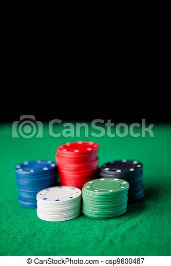 Gambling chips - csp9600487