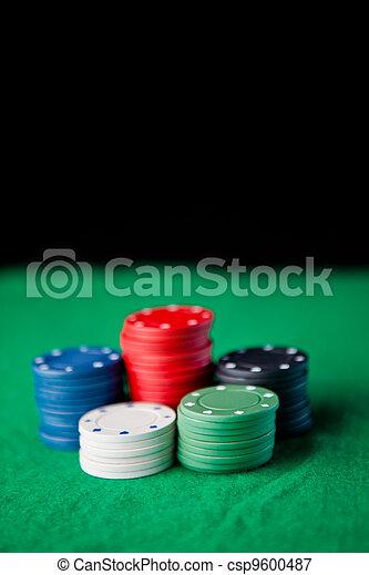 Gambling chips - csp9600487