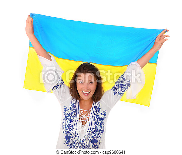 Ukrainian fan - csp9600641
