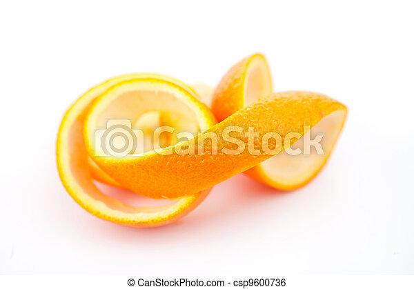 Orange rind - csp9600736