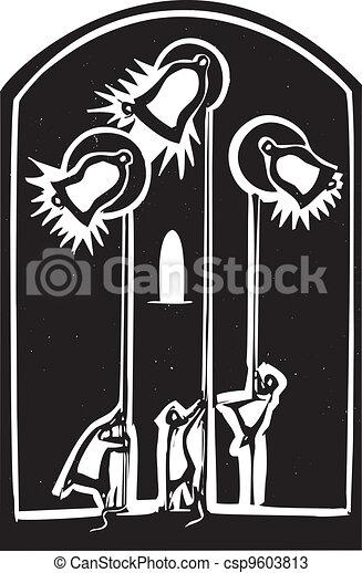 Church Bells - csp9603813
