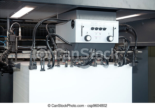 Press printing - Offset machine - csp9604802