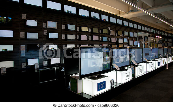 Big electronic retail store - csp9606026