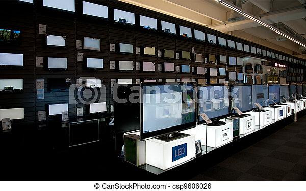 Big electronic retail store - csp9606026