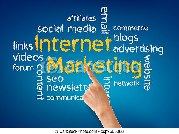 Internet Marketing - csp9606368