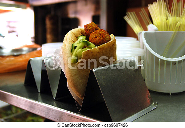Food and Cuisine - Falafel - csp9607426