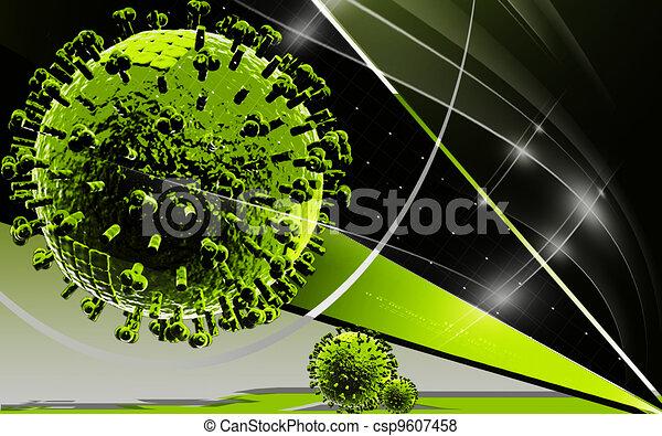 Avian Virus   - csp9607458
