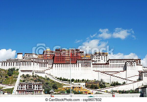 Landmark of the Potala Palace - csp9607832