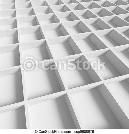 Futuristic Architecture Background - csp9608976