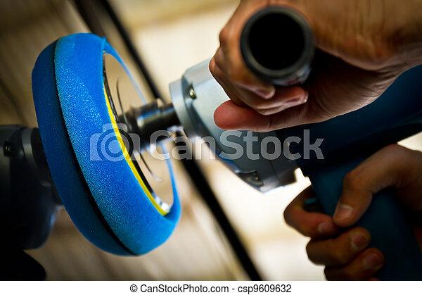 Hand hold car polisher - csp9609632