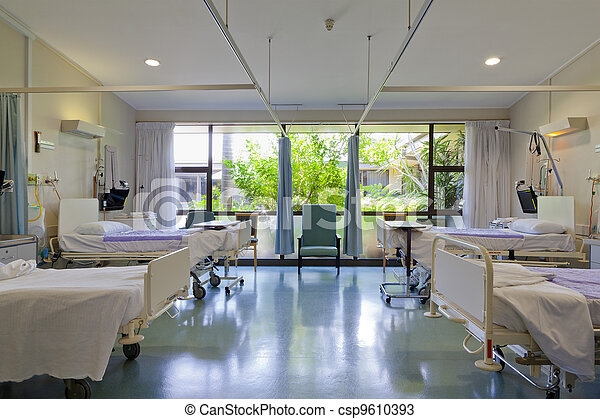 Hospital ward - csp9610393
