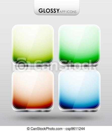 App icons - csp9611244