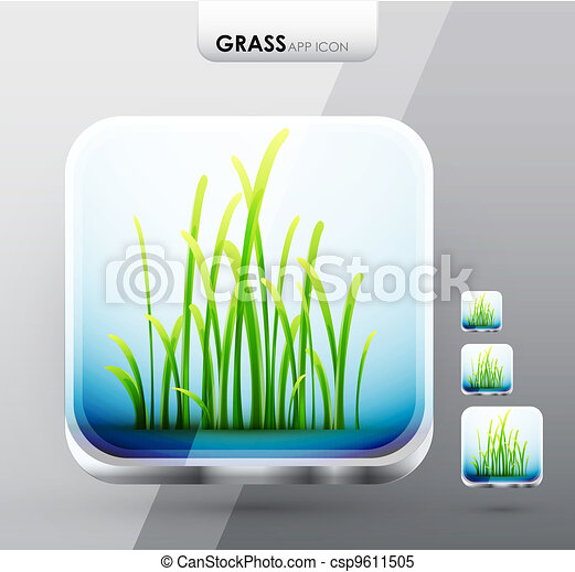 Grass app icons - csp9611505