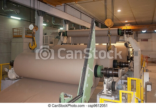 Paper and pulp mill - Factory, Plant - csp9612051