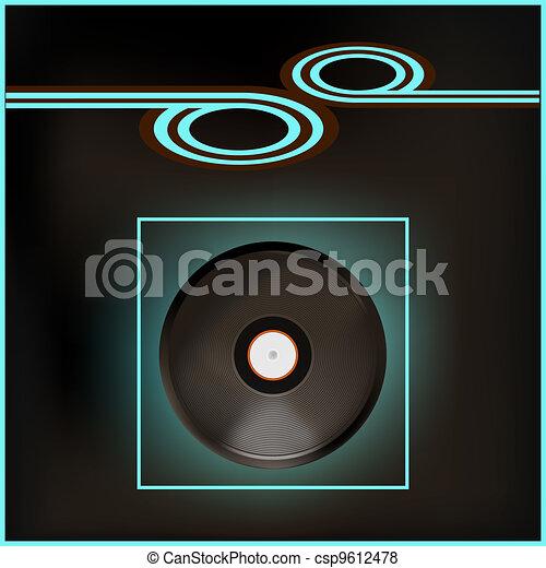 Music Flyer - csp9612478