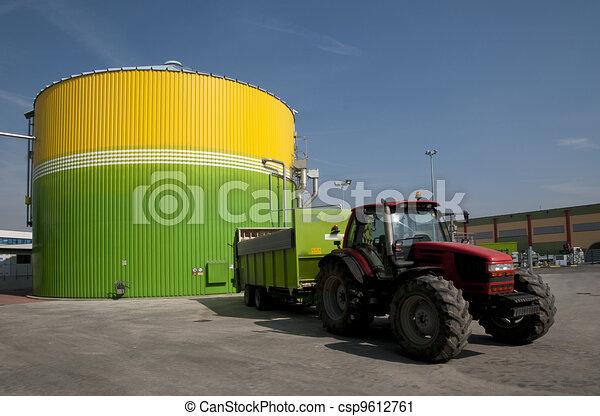 Renewable Energy: biogas energetic valorization - csp9612761