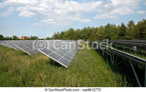Renewable energy: solar panels - csp9612770