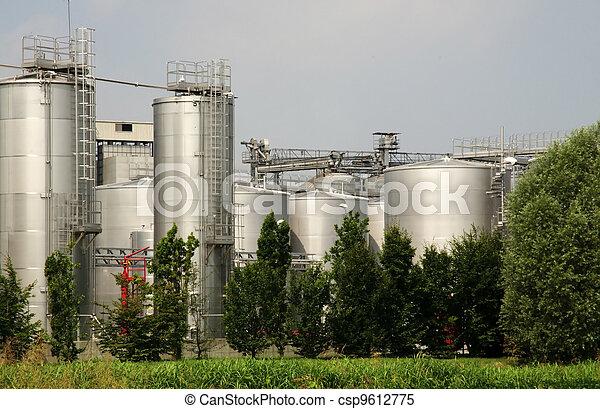 Renewable Energy: biodiesel production - csp9612775