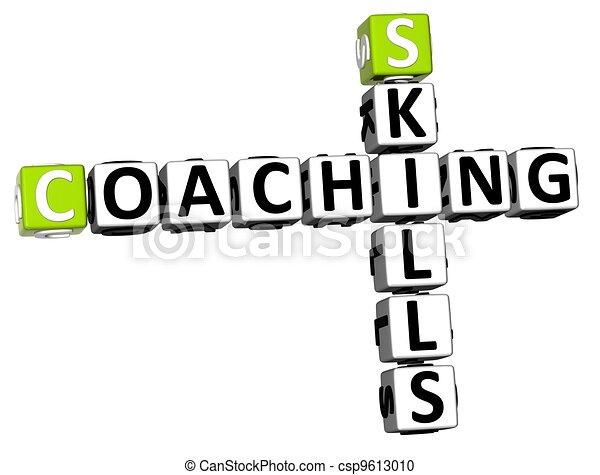 3D Skills Coaching Crossword - csp9613010