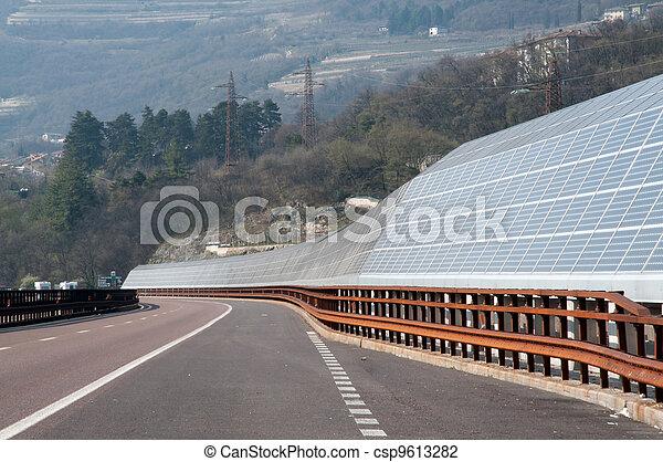 Renewable energy: solar panels - csp9613282