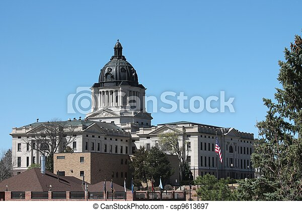 South Dakota State Capital Complex - csp9613697