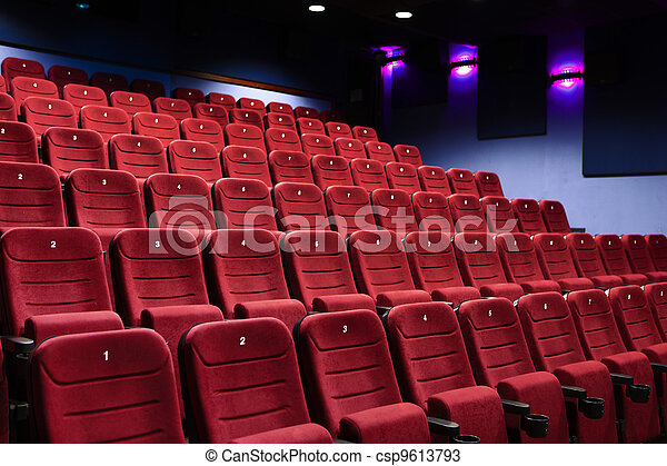 A cinema hall - csp9613793
