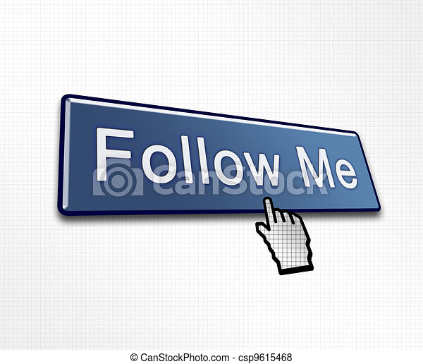 Clicked Follow Me Button - csp9615468