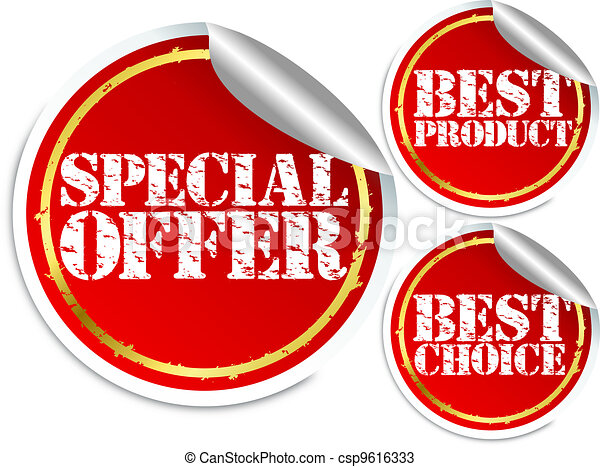 Special offer, best product and bes - csp9616333