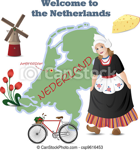 Welcome to the Netherlands - csp9616453