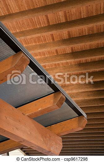 Glued laminated timber - csp9617298