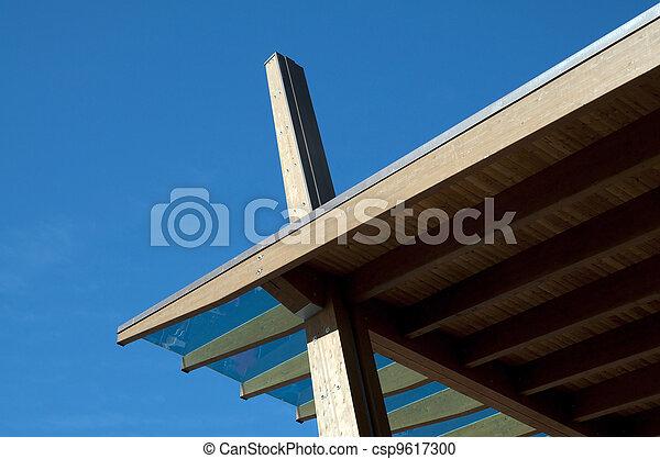 Glued laminated timber - csp9617300