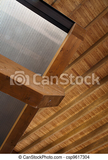 Glued laminated timber - csp9617304
